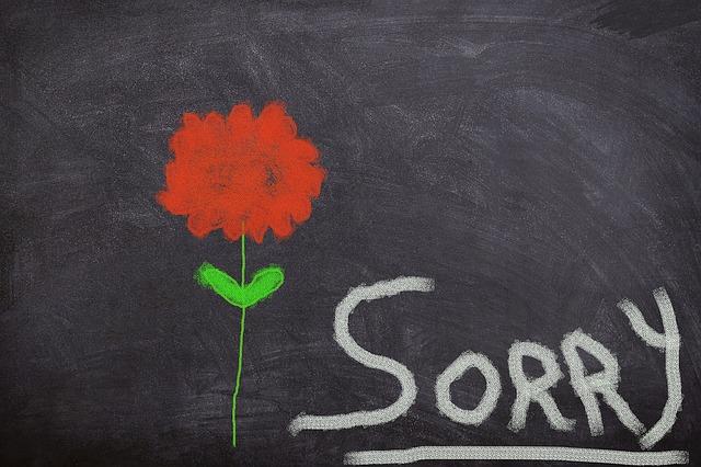 jak przeprosić dziewczynę